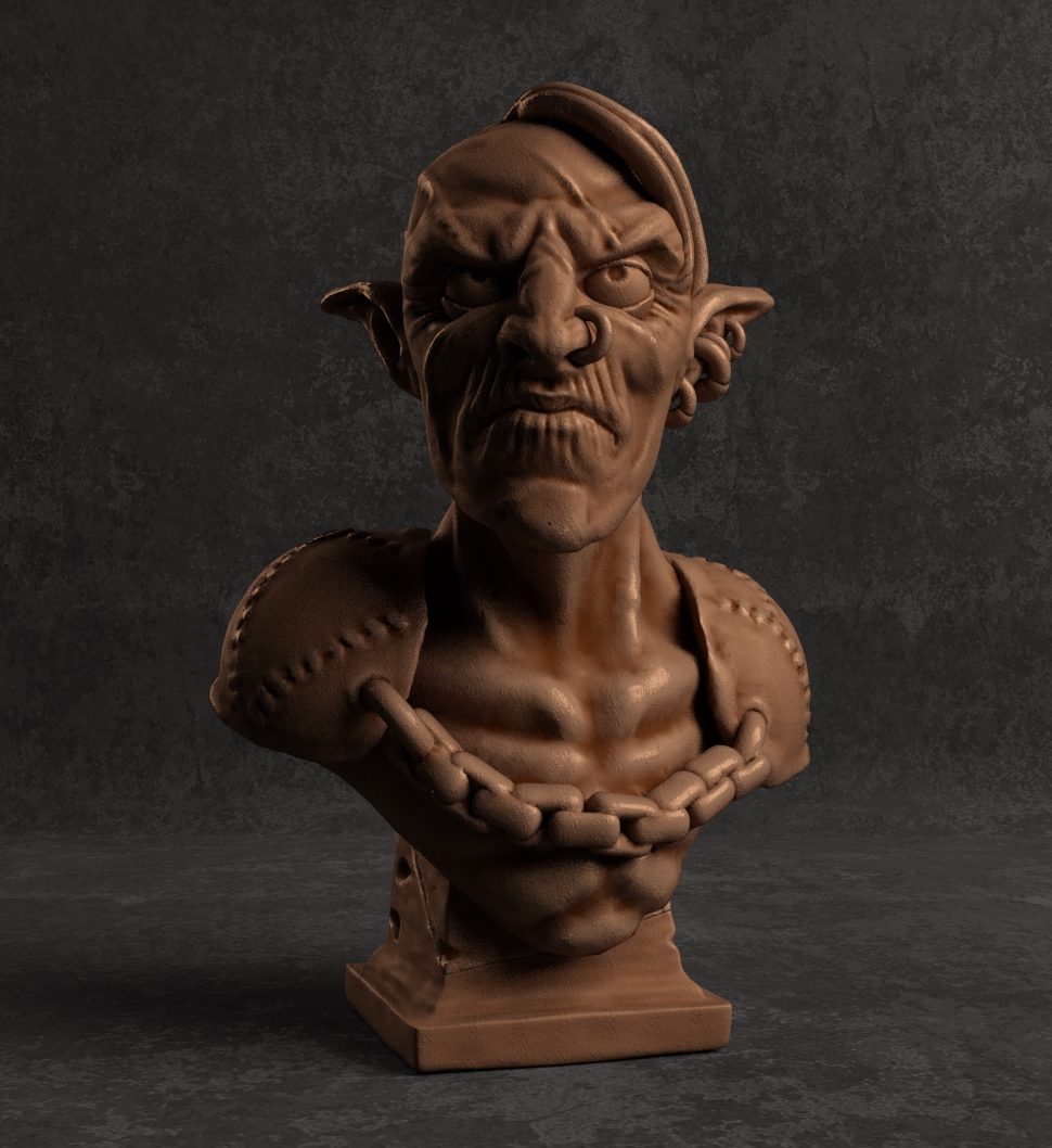 Goblin bust